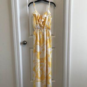 Ann Taylor Loft Spaghetti-Strap Maxi Dress